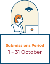 Submissions Period: 1-31 October