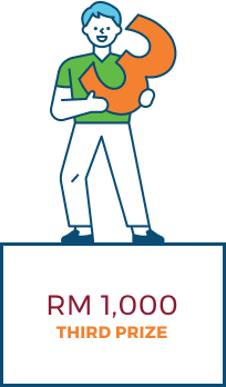 Third Prize: RM1000