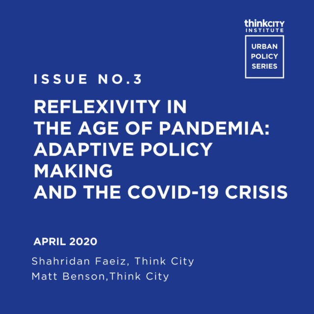 Issue 3: Reflexivity in the Age of Pandemia: Adaptive Policy Making and the COVID-19 Crisis