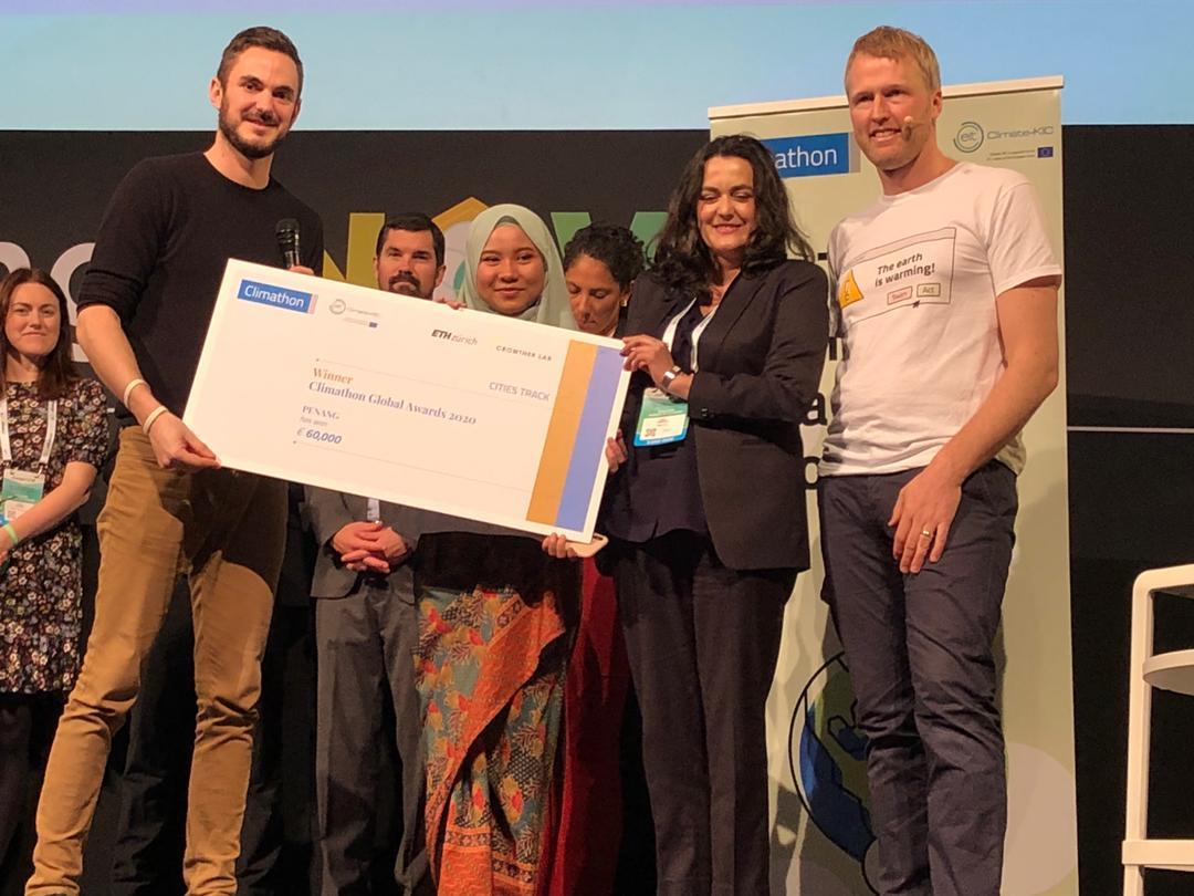 Penang Wins Global Climathon Awards