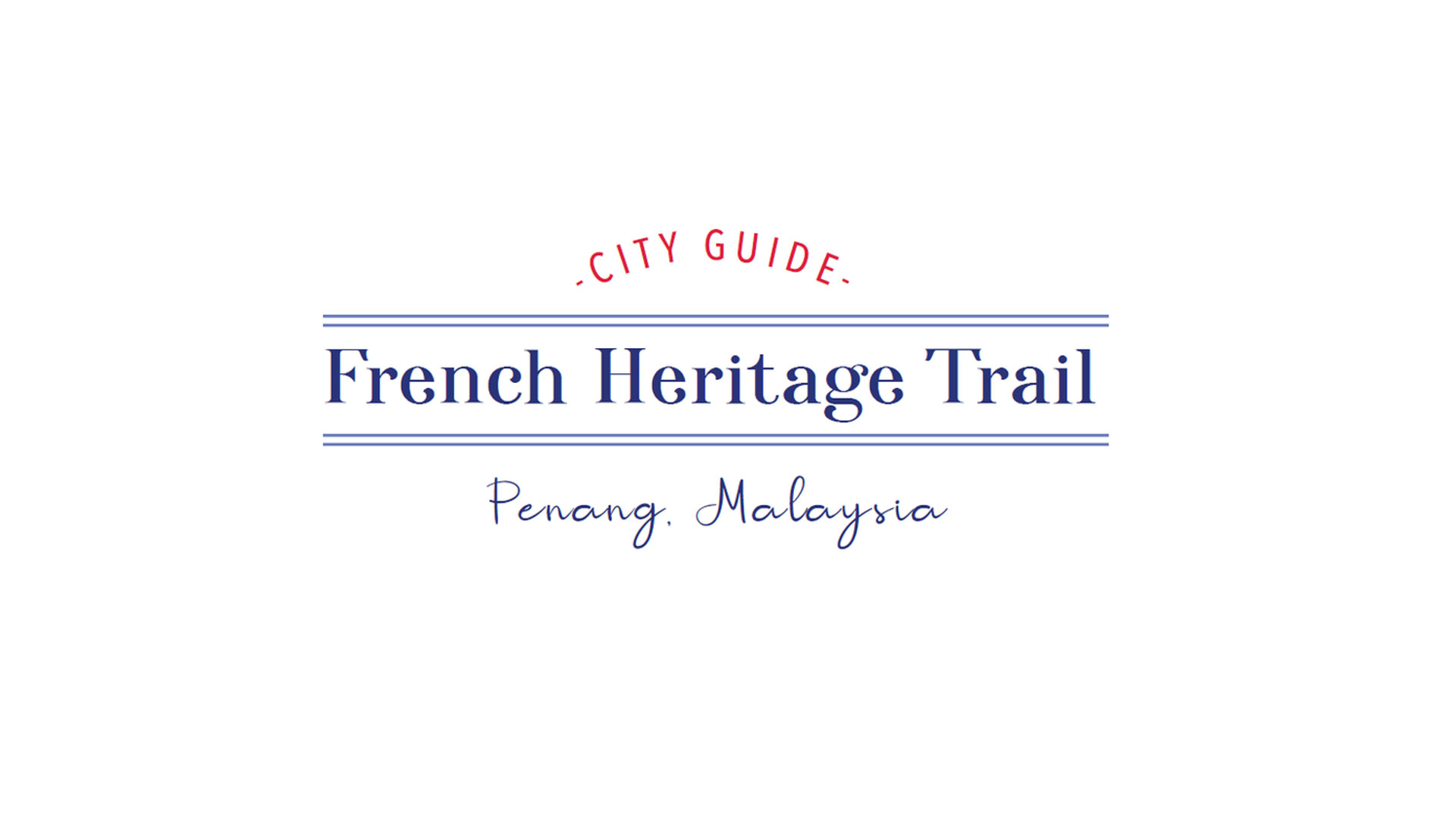 Launch of a French Heritage Trail in Penang